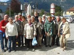 überraschender auftritt gruppe bahnhof